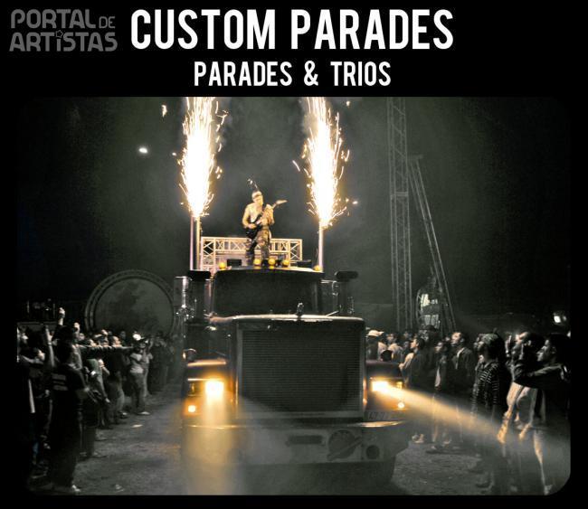 custom circus parades espect culos portal de artistas
