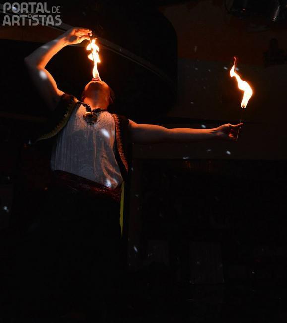 quideia espectaculo de fogo portal de artistas